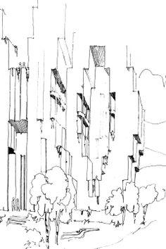 ricardo bofill sketch
