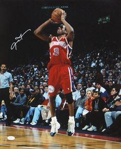 Allen Iverson Signed 16x20 Photo #SportsMemorabilia #Philadelphia76ers