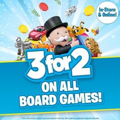 WOW! 3 FOR 2 on Board Games at #SmythsToysSuperstores! #HeyLetsPlay :D What will you be playing? :) www.SmythsToys.com  #smyths #smythstoys #smythstoyssuperstores #toystagram #heyletsplay #ifiwereatoy #oscar #love #uk #ireland #toys #fun #toptoytuesday #instagood #boardgames #3for2 #cool #offers #games