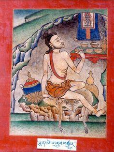 78Putalipa  The Mendicant Icon-Bearer