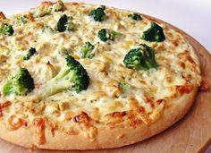 Citromhab: Csirkehúsos brokkolis pizza