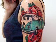 camper tattoo |