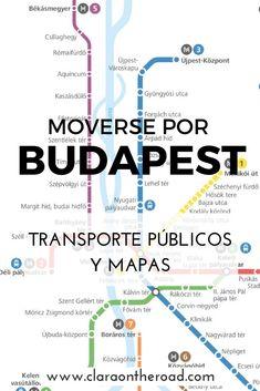 Moverse por Budapest es muy fácil, y la red de transporte público de la ciudad está verdaderamente bien organizada. Veamos cómo