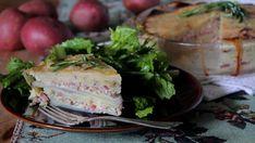 Tarte d'été jambon et pommes de terre (sans croûte) - Recettes de cuisine, trucs et conseils - Canal Vie
