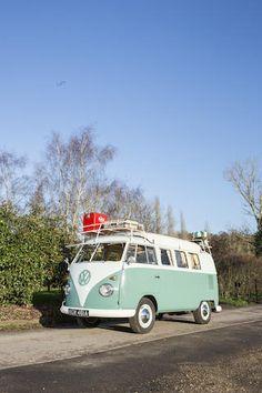 Volkswagen Type 2 « Flipseat » camping car 1963