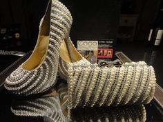 8f0661229ec852  Pearl  Wedding  shoes Collection