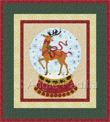 Quilt Inspiration: 'Tis the Season: Snow Globes | CHRISTMAS Quilts ... : globe quilt - Adamdwight.com