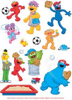 Welcome to Dover Publications Sesame Street Muppets, Sesame Street Characters, Sesame Street Party, Sesame Street Birthday, Preschool Cubbies, Sesame Street Invitations, Cricut Christmas Ideas, Elmo Party, Elmo Birthday