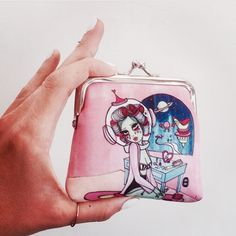 Space Babe  Coin Purse  Valfre.com #Valfre