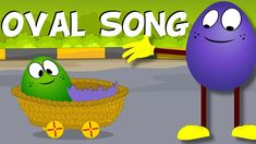 Oval Song | The Shapes Song | Oval Song For Kids | Nursery Rhymes for Ch... Kids Nursery Rhymes, Rhymes For Kids, Songs For Toddlers, Kids Songs, Pre K Activities, Infant Activities, Preschool Songs, Preschool Shapes, Preschool Ideas