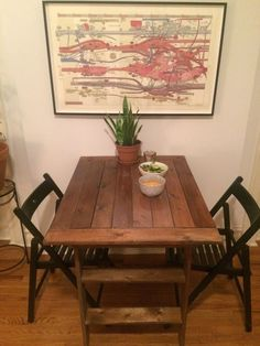Related image Vinyl Record Projects, Wood Projects, Projects To Try, Ikea Bed Slats, Bed Ikea, Ikea Hack Kitchen, Minwax, Repurposed, Ikea Hacks