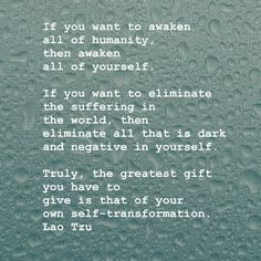 Tao Te Ching / Oneness / Self-growth / mindfulness / alignment with source / Lao Tzu Great Quotes, Quotes To Live By, Me Quotes, Inspirational Quotes, Amazing Quotes, Tao Of Pooh Quotes, Infp Quotes, Worth Quotes, Psychology Quotes