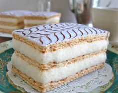 NUEVO alimento fieltro Napoleón francés pastelería