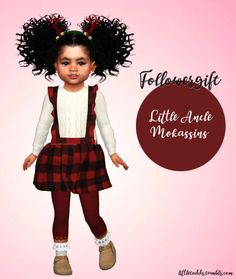 The Sims 4 Toddler Lookbook