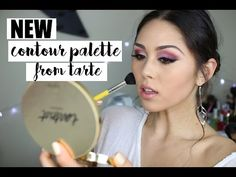 (1) How to Use the Tarteist Contour Palette | Unboxing & First Impression Review ♡ Roxette Arisa - YouTube