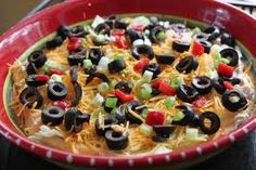 Chicken Fiesta Dip (5 Points+) #WeightWatchers #HealthyRecipes #Appetizer