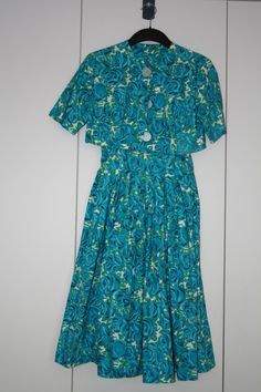 Klänning i bomull 50-tal