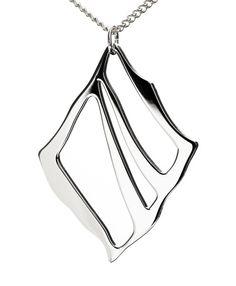 Nikama Silta riipus, 60 mm kiillotettu Bucket Bag, Jewelry Design, Steel, Pendant, Silver, Bags, Handbags, Money, Pouch Bag