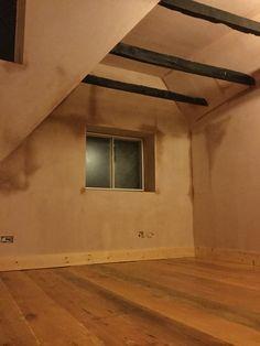 Loft bedroom renovations in progress