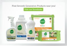 We are trying to do little things around the house to be more Eco Friendly and produce less waste. So I've been using Seventh Generation everything, I heard they are a little better than Green Works and from what I read they sound more Green, we will see. For now this is what I use and the products work great