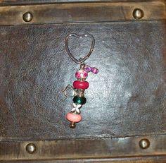 European Heart Key Chain ~ $7.00
