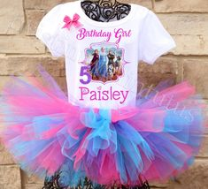Frozen 2 Birthday Outfit | Frozen 2 Birthday Party Ideas | Twistin Twirlin Tutus #frozen2 #frozen2birthday #twistintwirlintutus www.TwistinTwirlinTutus.com