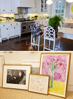 Aerin Lauder   Love The Relaxed Family Feel Especially With The Childrenu0027s  Art.