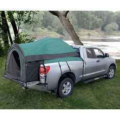 Truck Tent, Green — A Quick, Comfy Camp