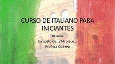 Curso de italiano para iniciantes- 8ª aula
