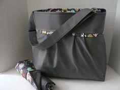 Monterey Bag Ultimate Diaper Bag Set  Large  In Slate by BagEnvy, $100.00