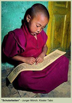 Tibetan little monk