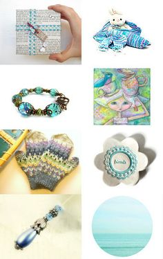 Beauty in Blue! by Deepa Gens on Etsy--Pinned with TreasuryPin.com