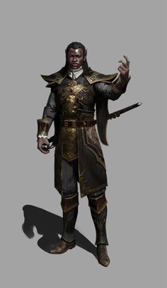 Nobleman by Hookwang Lee (xpost /r/EbonyImagination)
