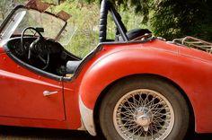 Triumph TR3. #californiamelee #vintagerally #sportscaradventures #carsofinstagram #drivetastefully
