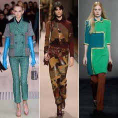 Pin for Later: Die 6 größten Trends aus Mailand Patchwork