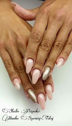 by Monika Szurmiej-Tutaj, Indigo Young Team! Follow us on Pinterest. Find more inspiration at www.indigo-nails.com #nailart #nails #indigo #pink #gold