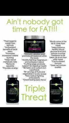 Seriously ! Ain't NOBODY got time for FAT! Visit website to order yours today! Www.thogbin.myitworks.com