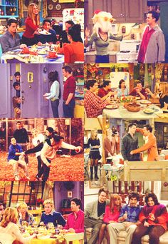 Friends Thanksgiving Episodes ~ the Thanksgiving episodes are some of my favorite episodes of all time