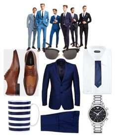 """""""blue"""" by lindsay-sganga on Polyvore featuring Paul Smith, Tom Ford, Yves Saint Laurent, Missoni, Kate Spade and Emporio Armani"""