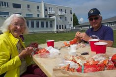 Ocean to Table Lobster in the Canadian Maritimes - Our Lobster Picnic at Parkland Inn, New Brunswick, Canada