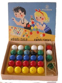 DDR Kugel-Solo / Fädelspiel