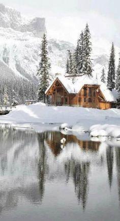 Canada Winter landscape