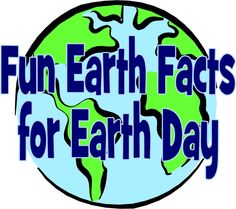 20 Fun Earth Facts for Earth Day | Mom On Timeout