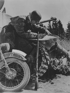 Motorcyclist 1941.
