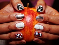 10 cute diy back to school nail art design ideas that will make you miss the classroom. School Nail Art, Back To School Nails, Middle School, Christmas Nail Art, Holiday Nails, Simple Nail Designs, Nail Art Designs, Teacher Nail Art, Seasonal Nails