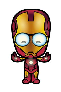 Lil Oishi as Iron Man!