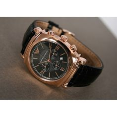 071d3914ee4c7 Emporio Armani AR0321 Classic Chronograph Rose Gold. Emporio Armani Mens  Watches ...