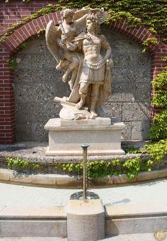 Historische Marmorparkfigur - Antik Möbel Hesz Park, Fountain, Greek, Exterior, Statue, Outdoor Decor, Home Decor, Antique Furniture, Objects
