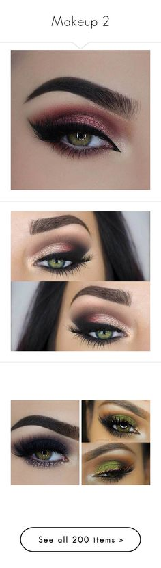 """""""Makeup 2"""" by yovgb ❤ liked on Polyvore featuring beauty products, makeup, eye makeup, eye look, pretty green, eyes, eyeshadow, tuttle, beauty and urban decay"""