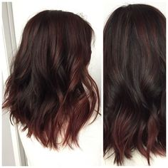 Old Ombre To Dimensional Brunette - Hair Color - Modern Salon